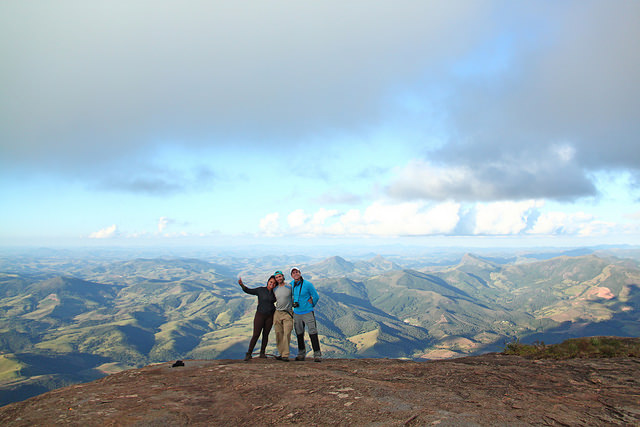 Cume do Pico do Papagaio