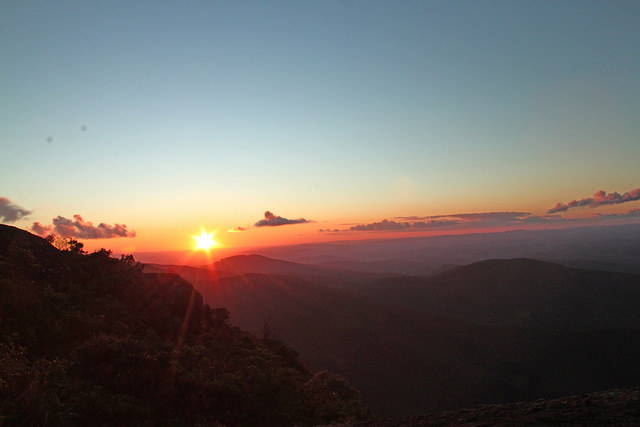Pôr do Sol – Pico do Papagaio